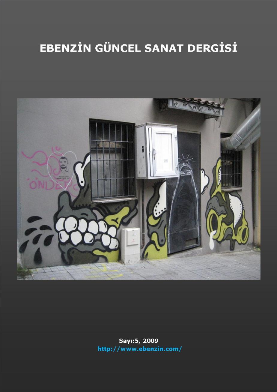 Ebenzin 5 Güncel Sanat Dergisi, Şinasi Güneş, 2009