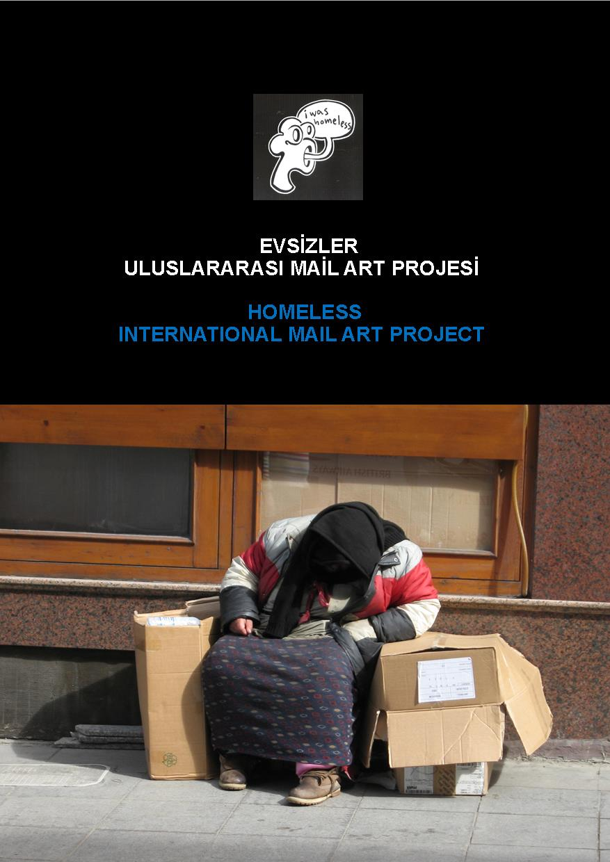 Homeless Mail Art Project, Şinasi Güneş, 2013